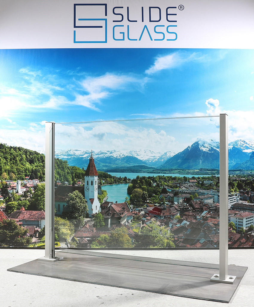 News Ticino - Slide Glass by Galvolux