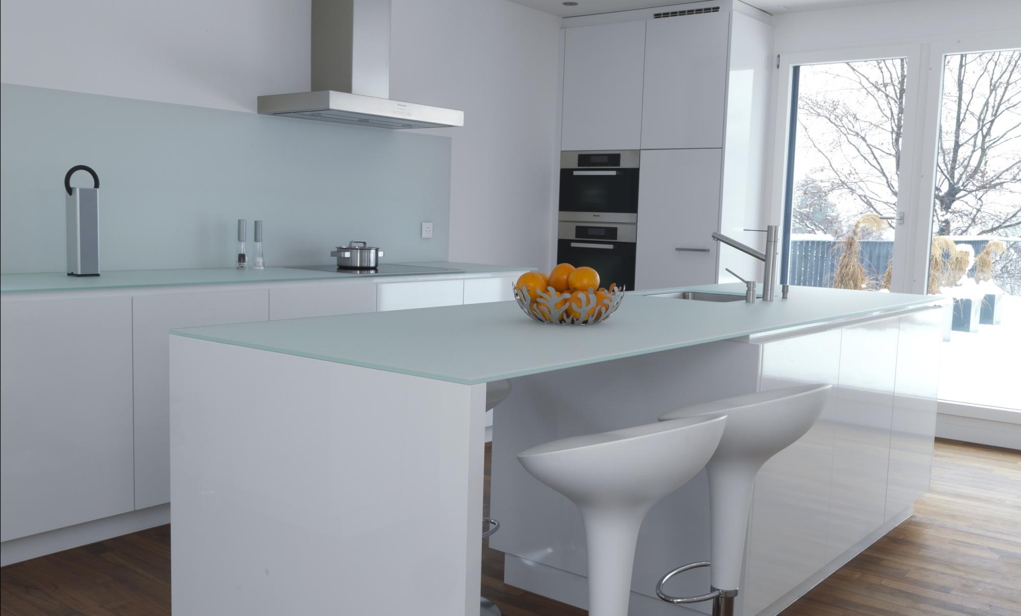 Paraschizzi cucina in vetro temperato paraschizzi cucina - Schienale cucina in vetro temperato ...